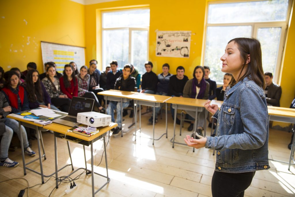 "Open lessons on Climate Change and presentation of the competition ""Me LEADER"" at the schools in Keda Municipality"