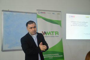 Students of Batumi Shota Rustaveli State University were Given a Training on Waste Management Issues