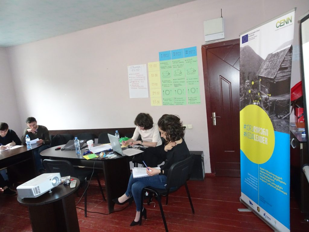 EU-supported Training on Organizational Management for LAG Board members was held in Keda