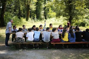Green camp for young leaders and innovators from Keda municipality