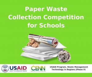 Paper Waste Collection Competition for Schools